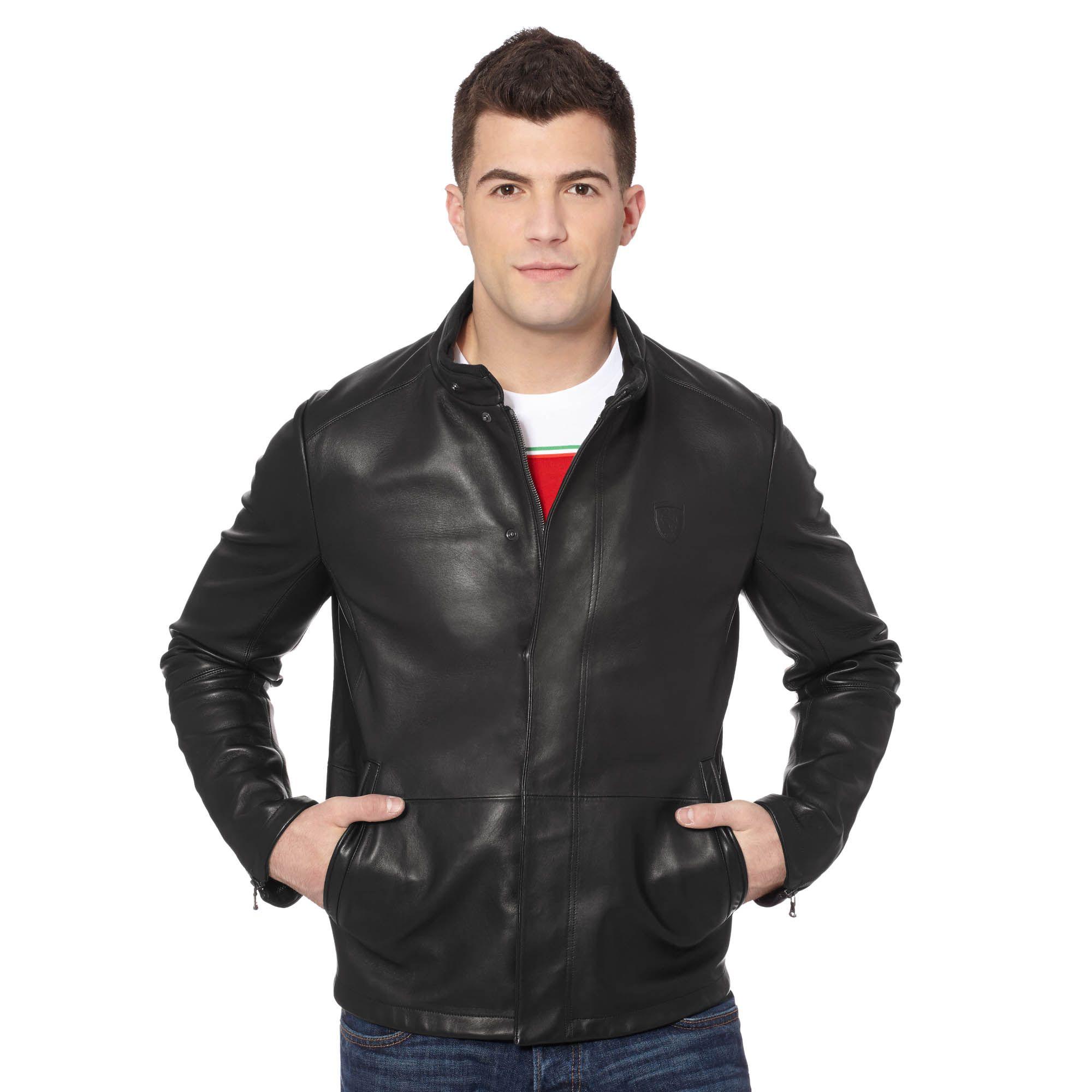 Ferrari Premium Leather Jacket